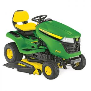 John Deere X350 Accel Deep Deck Ride-on Mower