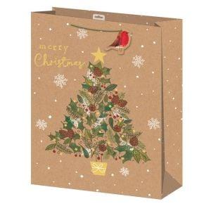 Kraft Christmas Tree Bag - Extra Large