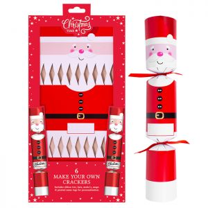 'Make Your Own' Santa Crackers – Pack of 6