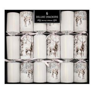Harvey & Mason Deluxe Ice Deer Crackers – Pack of 6