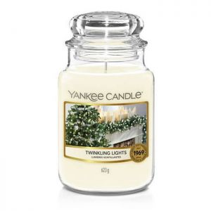 Yankee Candle Large Housewarmer Jar – Twinkling Lights