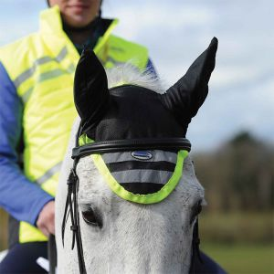 Weatherbeeta Reflective Ear Bonnet – Yellow