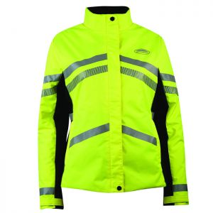 Weatherbeeta Reflective Children's Heavy Padded Waterproof Jacket – Yellow