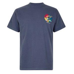 Weird Fish Fish You Artist T-Shirt - Blue Indigo