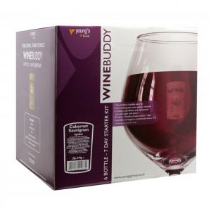 Young's WineBuddy Starter Kit - Cabernet Sauvignon, 6 Bottles