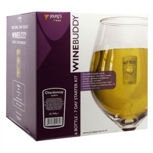 Young's WineBuddy  Starter Kit - Chardonnay, 6 Bottles