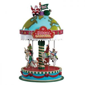 Lemax Christmas Figurine - Yuletide Carousel