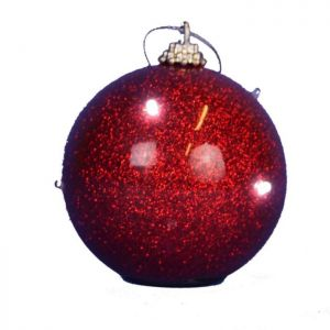 Jingles Light Up Bauble - Red