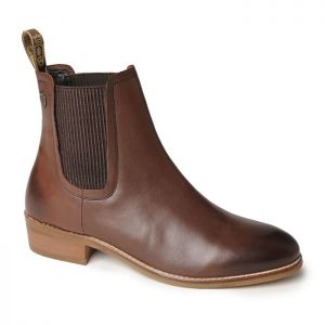 Silver Street Zara Leather Boots – Brown