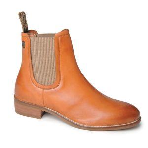 Silver Street Zara Leather Boots – Tan