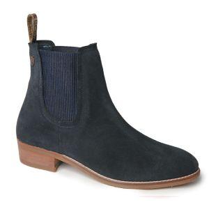 Silver Street Zara Suede Boots – Navy