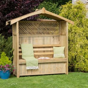 Zest 4 Leisure Hampshire Arbour with Storage Box