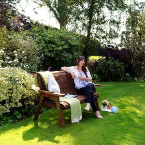 Zest 4 Leisure Charlotte 3 Seater Garden Bench