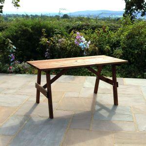 Zest 4 Leisure Charlotte Rectangular Garden Table