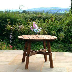 Zest 4 Leisure Charlotte Round Garden Table