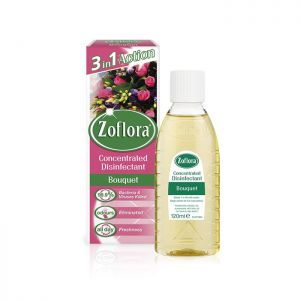 Zoflora Concentrated Disinfectant, 120ml, Bouquet - Pack of 3