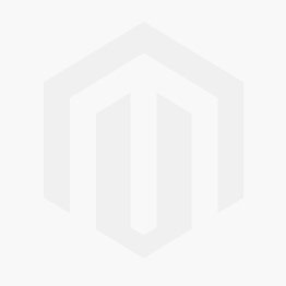 Upholstered Ivory Faux Leather Stool