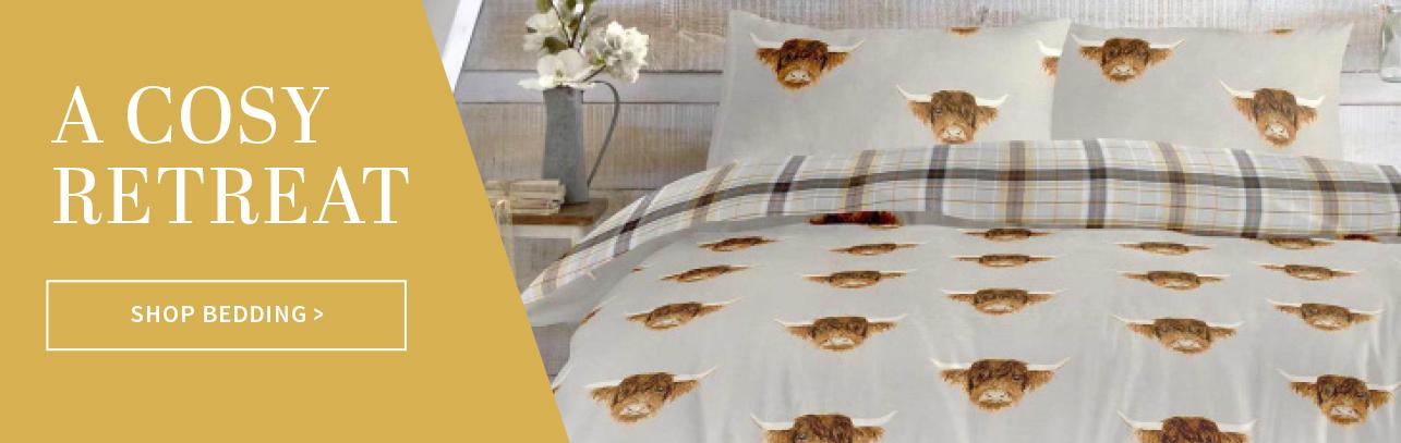 Bedding at Charlies