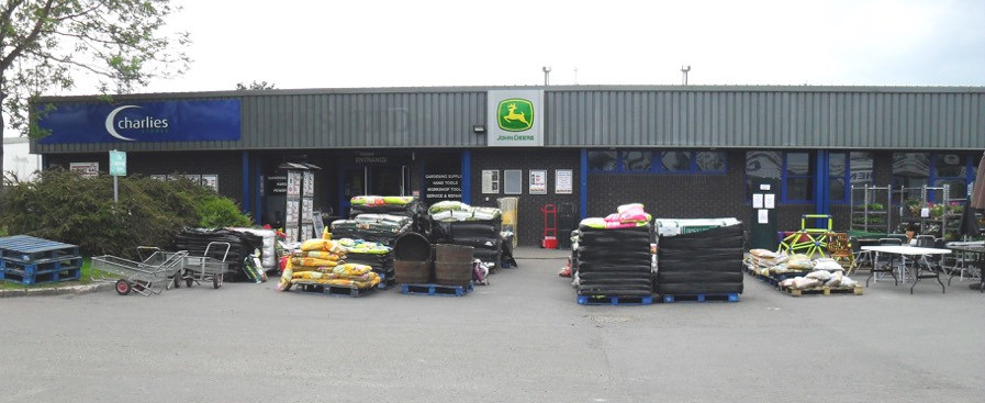 Newtown Dyfryn charlies store
