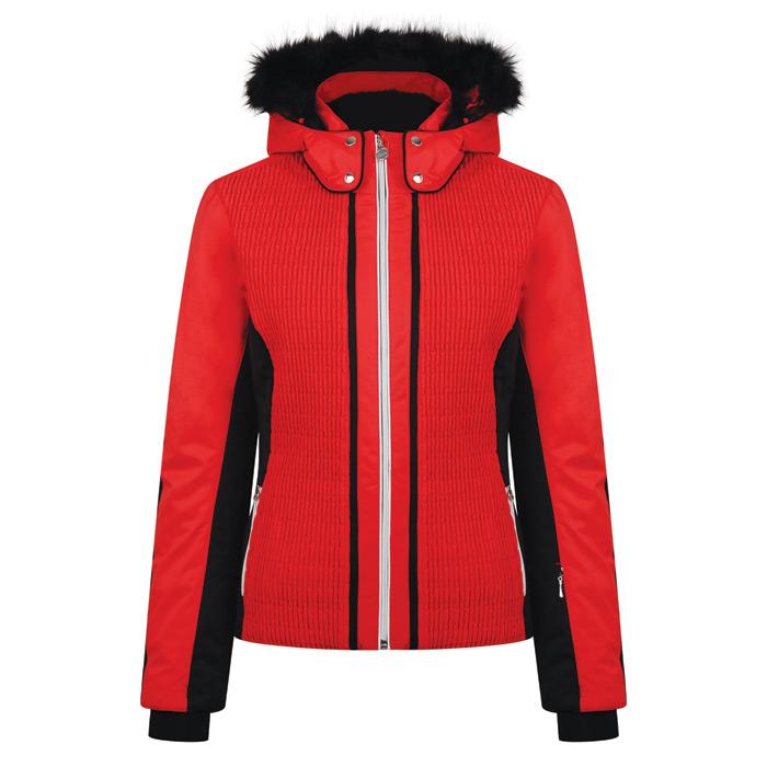 Dare 2b Women s Statement Jacket - Lollipop Red Black b433ae949