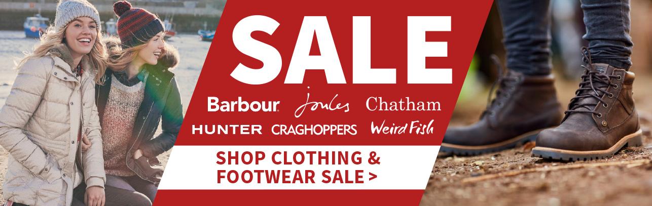 Clothing & Footwear Sale