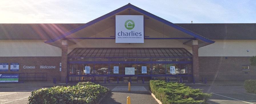 Aberystwyth Parc Y Llyn Charlies store